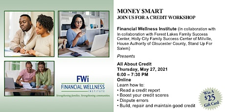 May 27th FWI Money $mart Credit Workshop tickets