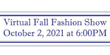 GSCC Virtual Fall Fashion Show tickets