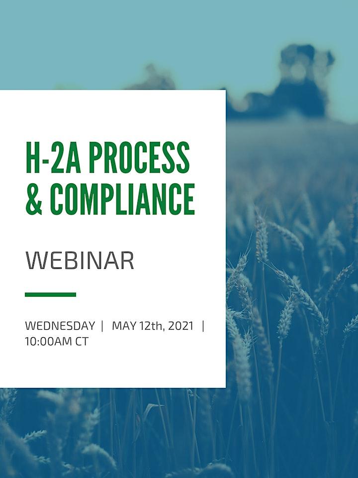 Farmer Law Webinar Wednesdays: H-2A Process & Compliance image