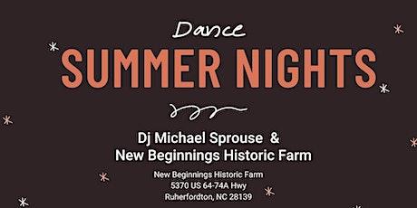 Summer Dance Nights tickets
