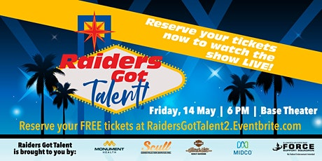 Raiders Got Talent LIVE! tickets
