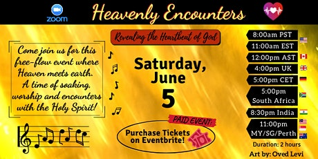 RHG Heavenly Encounters - June 5, 2021 tickets