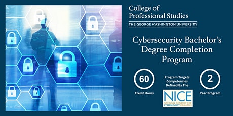 Cybersecurity Bachelor's Degree Completion Online Info Session (via Webex) tickets