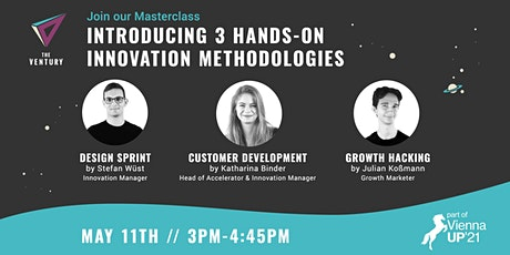 Masterclass: Intro to 3 hands-on Innovation Methodologies tickets