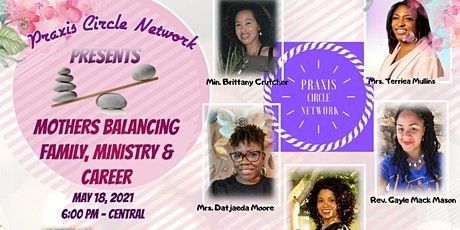 5/18: Mothers Balancing Family, Ministry & Career tickets