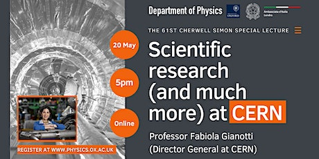 Scientific research (and much more …) at CERN tickets