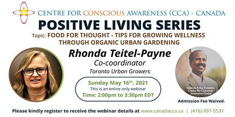 Positive Living - Organic Home Gardening tickets