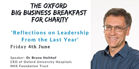 The Oxford Big Business Breakfast for Charity - 4th June tickets