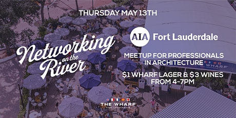 Networking on the River for Professionals in Architecture at The Wharf FTL tickets