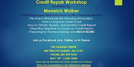 Credit Repair Workshop tickets