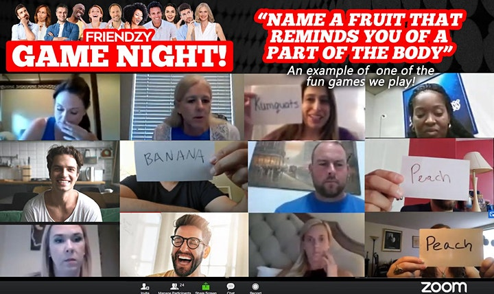 Online Game Night - A Fun Social Party From Home! image