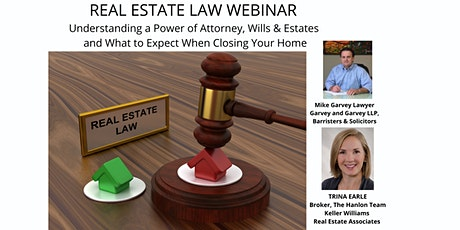 Power of Attorneys, Preparing a Will and Understanding Estate Probate tickets