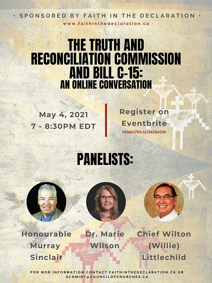 The Truth and Reconciliation Commission and Bill C-15 Online Learning Event image