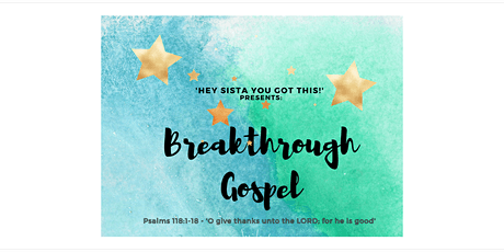 Breakthrough Gospel tickets
