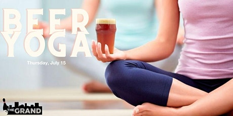 Beer Yoga on the Patio tickets