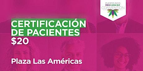 Certificación de Pacientes de CM |(Del 16 al 19 de Diciembre de 2021) entradas