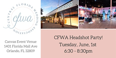 CFWA June Headshot Party at Canvas Event Venue tickets