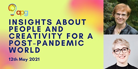 Insights about people and creativity for a post-pandemic world tickets