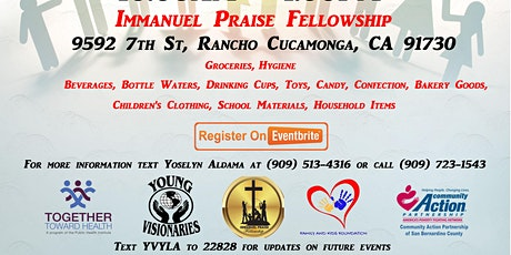 Immanuel Praise Fellowship Pull Up and Pick Up Family Support Day tickets