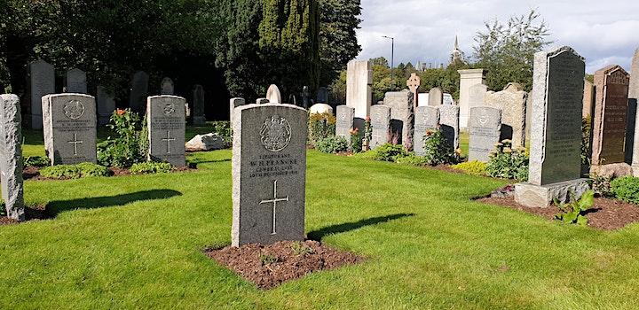 CWGC War Graves Week Tours - Edinburgh Comely Bank Cemetery image