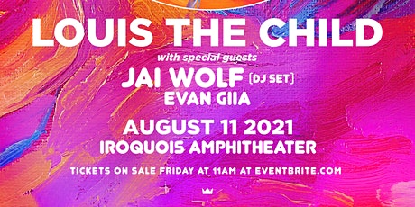 Louis the Child w/ JAI WOLF (DJ Set) & EVAN GIIA tickets