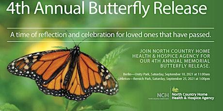 BERLIN - 4th Annual Butterfly Release  {9.18.21} tickets