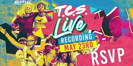 Teen Church Sunday Live Recording tickets