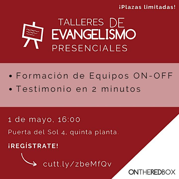 Imagen de TALLER DE EVANGELISMO  | 1 DE MAYO