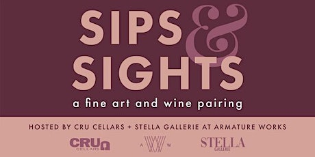 Sips & Sights _ An Evening of Fine Art and Wine Pairing tickets