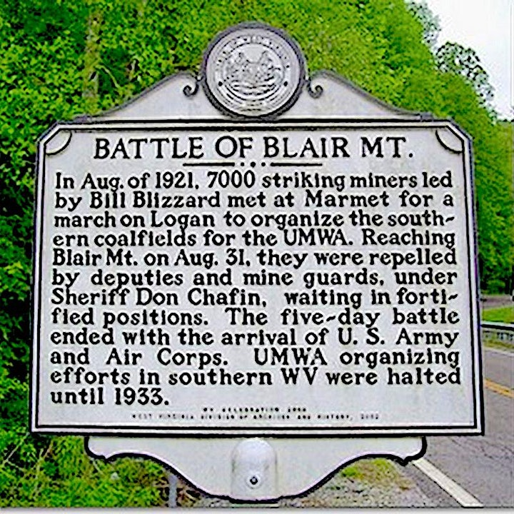 Battle of Blair Mountain, 1921 ... Significance for Working People Today image