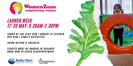 WomenZone Launch Week tickets