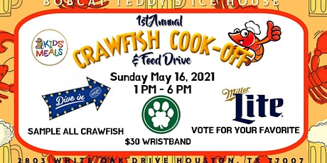 1st Annual Crawfish Cook-Off & Food Drive tickets