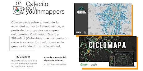 Cafecito con YouthMappers: movilidad activa en Latinoamérica entradas