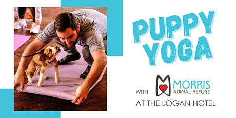 Puppy Yoga with The Logan Hotel tickets