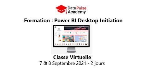 Power BI Initiation - 2 jours - 7 & 8 Septembre  2021 billets