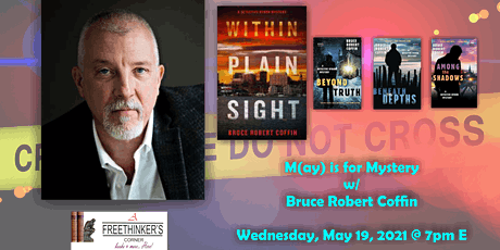 M(ay) is for Mystery w/ Bruce Robert Coffin tickets