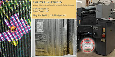 SFCB Shelter in Studio tour :: Clifton Meador tickets