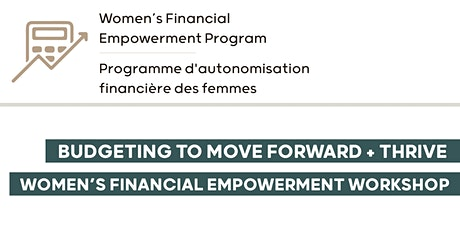 Budgeting to Move Forward and Thrive Workshop tickets