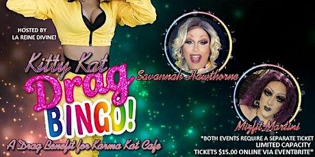 7PM - Kitty Kat Drag Bingo Returns! A Drag Benefit for Karma Kat Cafe tickets