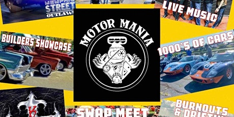 """""""Motor Mania"""" Takes Over The Washington County Fair Grounds (June 25-27) tickets"""