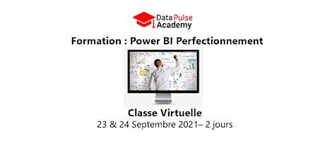 Power BI Perfectionnement - 2 jours - 23 & 24 Septembre 2021 billets