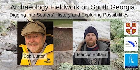 Archaeology Fieldwork on South Georgia tickets