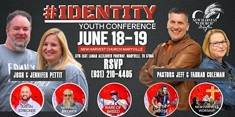 #Identity Youth Conference tickets