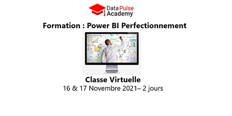 Power BI Perfectionnement - 2 jours - 16 & 17 Novembre 2021 biglietti