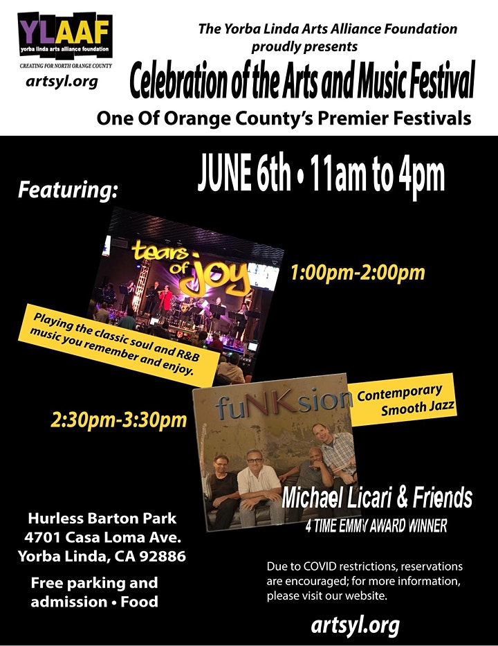 Celebration of the Arts and Music Festival image