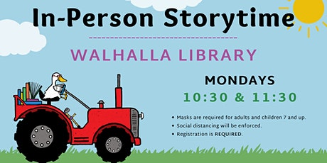 In-Person Storytime - Walhalla Library tickets
