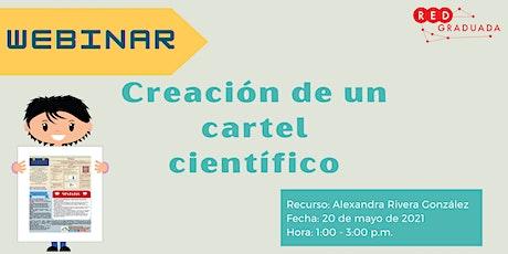 Webinar: Creación de un cartel científico tickets
