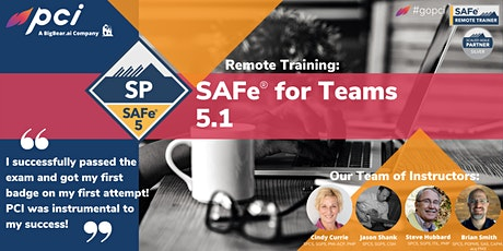 SAFe® for Teams 5.1  - Remote Tickets