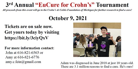 Eucure for Crohns tickets