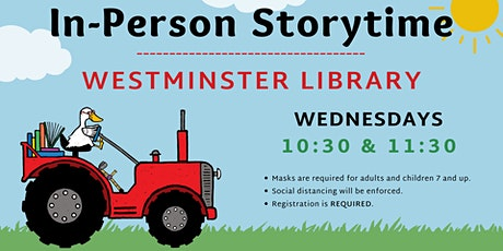 In-Person Storytime - Westminster Library tickets
